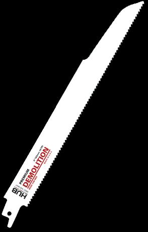 HUB Demolition Reciprocating Blades