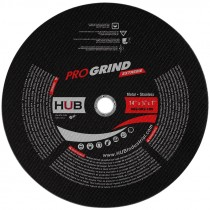 """14"""" x 1/8"""" x 1""""/20mm ProGrind® Extreme Gas Saw Cut Off Wheel, For Metal (Max RPM: 5,400)"""