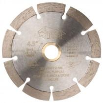"4""1/2"" x .080"" x 7/8""-5/8"" DX-S Universal Segmented Standard Diamond Blade"