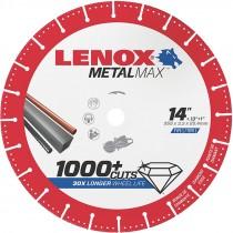 "14"" x .150 x 1"" / 20MM MetalMax Diamond Wheel (5300 Max RPM)"