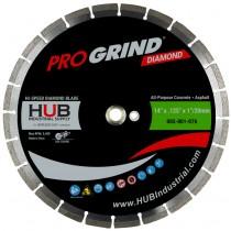 "14"" x .125"" x 1""/20MM ProGrind® Concrete / All-Purpose Diamond Blade"