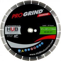 "14"" x .125"" x 1""/20MM ProGrind® Asphalt / All-Purpose Diamond Blade"