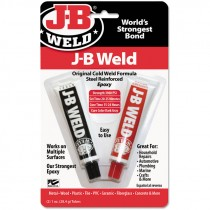 Original JB Weld® Cold Weld 2-Part Repair Epoxy, 2 oz.