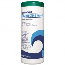 Boardwalk® Disinfecting Wipes, Fresh Scent, 35 Wipe/Canister