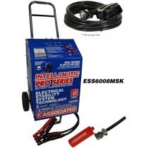 ESS6008MSK Intellamatic® 12 Volt – 60 Amp/270 Amp Boost Wheeled Charger