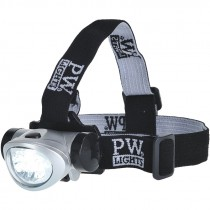 40 Lumen LED Head Light, (3) AAA Batteries