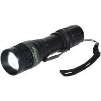 180 Lumen Aluminum Tactical Flashlight, (3) AAA Batteries