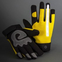 Rechargeable LED Lighted Gloves, X-Large