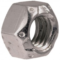 9/16-12 Grade C Zinc Plated Top Lock Nut