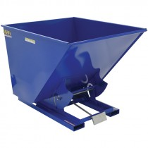 2 Cubic Yard Heavy Duty Self-Dumping Hopper, 6000 LB Capacity