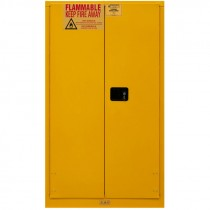 60 Gallon Capacity FM Approved Flammable Safety Cabinet with Manual Closing Doors