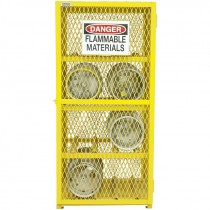 Horizontal Cylinder Storage Cabinet - Holds 8 Cylinders