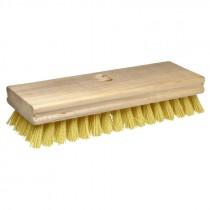 "8"" x 2"" Tampico Scrub Brush w/ Handle"