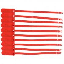 Fleet Lock Plastic Trailer Seals Box of 1,000 - Red