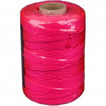 #18 x 500' Nylon Mason Twine - Fluorescent Pink