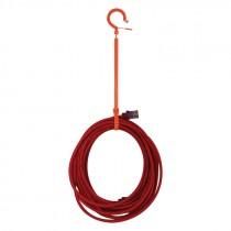 "19-7/10"" Large Locking Tie Hook"