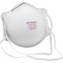 N95 Particulate Respirator, (2) Welded Elastic Headstraps