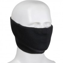 Washable Knit Face Cover, Non-Rated, w/ Filter Pocket, Black, Universal Size