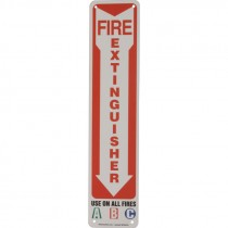 18 X 4 FIRE SAFETY SIGN
