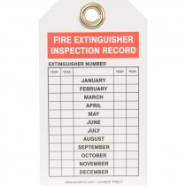 FIRE INSPECTION TAG - 5 PK