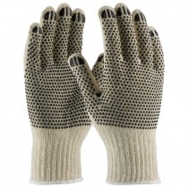 110PDD-S Small EC Cotton Gloves PVC Dotted
