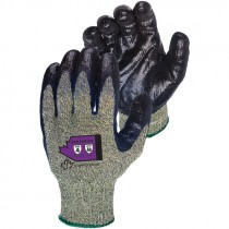 Kevlar®/Wire-Core Glove, Nitrile Coated, Steel-Mesh Palm, X-Large