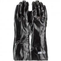 "14"" PVC Dipped Glove, Smooth Grip, Interlock Lining, Universal Size"