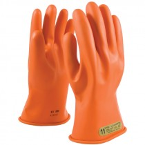 """147-00-11-9 Class 00 11"""" NOVAX™ Rubber Insulating Electrical Gloves - Large"""