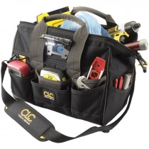 TECH GEAR LED 14 IN. BIG MOUTH TOOL BAG
