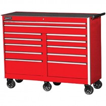 "54"" Williams® 12 Drawer Commercial Rolling Toolbox, Red"