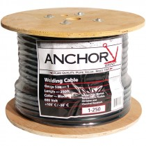 1/0 AWG Welding Cable, Black, 250'