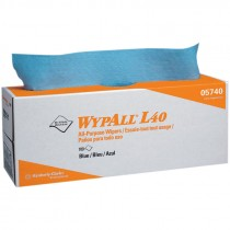 #05740 WypAll® L40 Wipers - Pop-Up Box - Blue - 100 / Box