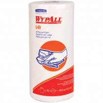 #05027 WypAll® L40 Wipers - Small Roll - White