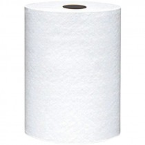 #835B VonDrehle® Preserve® Hardwound Towels - White - 350' - 12 Rolls / Per Case