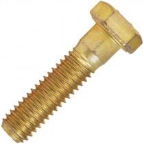 1-8 X 3 HEX CAP SCREW GR 8 ZINC/YELLOW