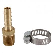 """3/8"""" x 3/8"""" Barb and Clamp Air Hose Repair Kit"""