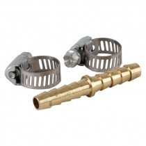 """1/4"""" x 1/4"""" Splicer and Clamps Air Hose Repair Kit"""