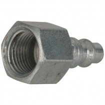 "1/4"" Body X 3/8"" FPT Steel Plug"