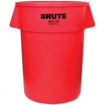 Red Rubbermaid® Brute® Trash Can - 44 Gal.