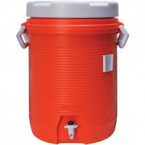 5 Gallon Rubbermaid Water Cooler - Orange