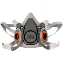 3M 6200-M Dual Cartridge Respirator