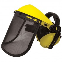 SE3794 Mesh Visor System with Ear Muffs