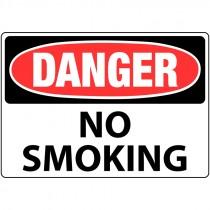 """7"""" x 10"""" Danger no Smoking Sign"""