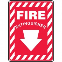 """10"""" x 7"""" Fire Extinguisher Sign"""