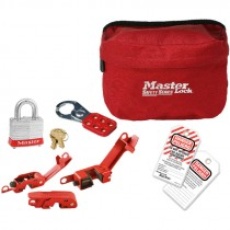 Electrical Systems Lockout Pouch Kit, Bilingual English/Spanish