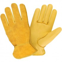 Split Deerskin Large Drivers Gloves