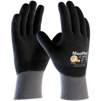 34-876-XL G-TEK MAXIFLEX MICRO-FOAMNITRILE COATED NYLONE GLOVES  XL