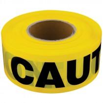 "3"" x 1,000' Yellow Caution Tape"