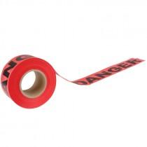 """3"""" x 1,000' Red Danger Tape"""