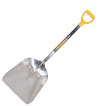 "15-1/4"" x 19"" Aluminum Scoop Shovel"